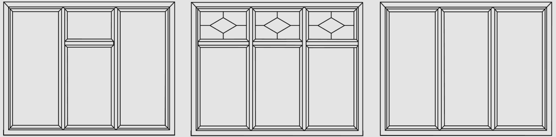 Casement Window Configurations