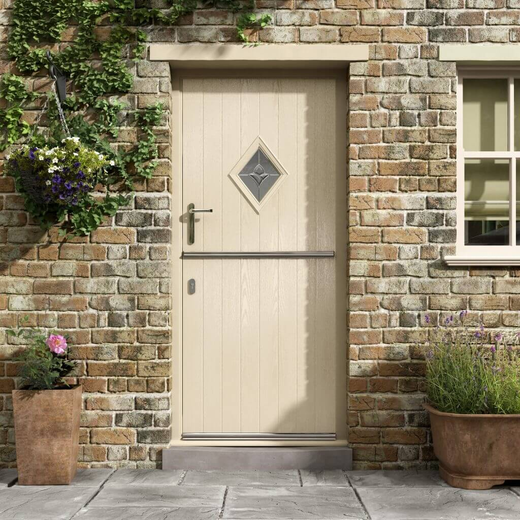 Stable Door in Cream