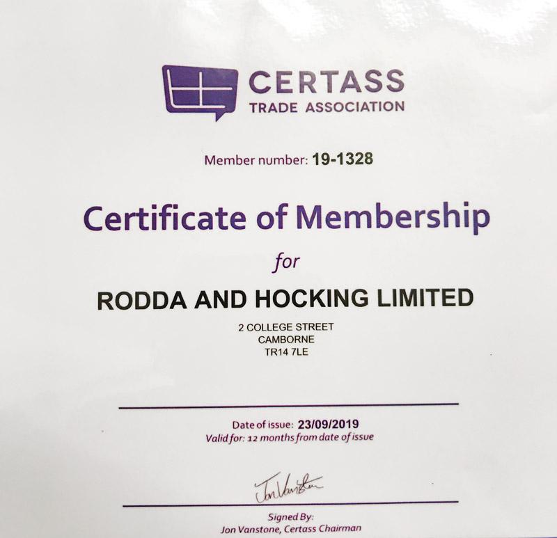 Certass Trade Association